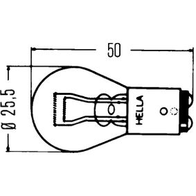 8GD 002 078-121 Bulb, indicator HELLA - Cheap brand products