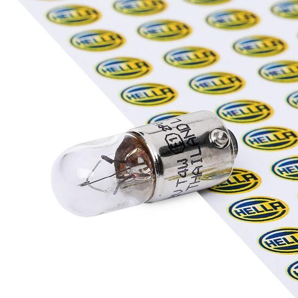 8GP002067121 Glühlampe, Kennzeichenleuchte STANDARD HELLA 814312 - Große Auswahl - stark reduziert