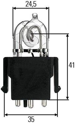 Glühlampe, Fernscheinwerfer HELLA 8GS 859 634-001 mit 30% Rabatt kaufen