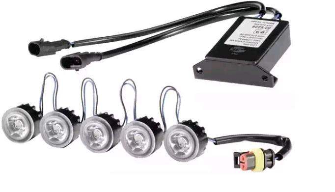 2PT 010 458-701 HELLA Daytime Running Light Set - buy online