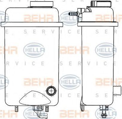 Ausgleichsbehälter Kühlmittel HELLA 8MA 376 705-431