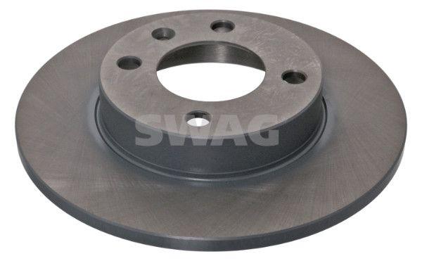 SWAG 30 90 2122 (Ø: 239,0mm, Épaisseur du disque de frein: 10mm) : Disque de frein VW Polo 86c 1988