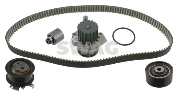 SWAG Water pump and timing belt kit 30 93 2738
