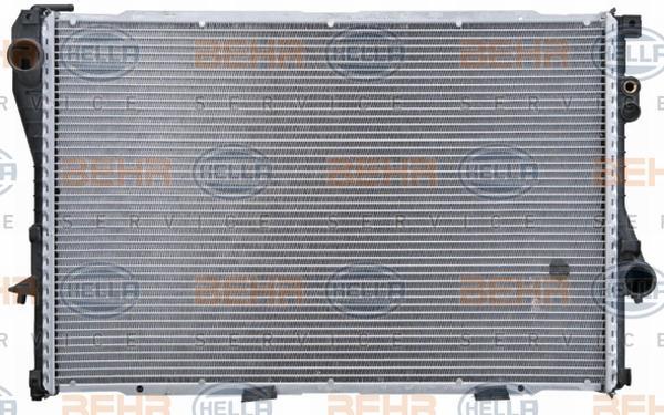 HELLA Kühler, Motorkühlung 8MK 376 712-231
