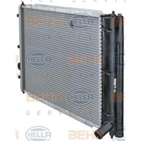 8MK 376 713-631 Kühler HELLA - Markenprodukte billig