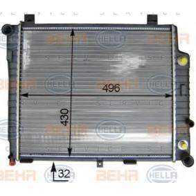 refrigeraci/ón del motor BEHR HELLA SERVICE 8MK 376 714-641  Radiador