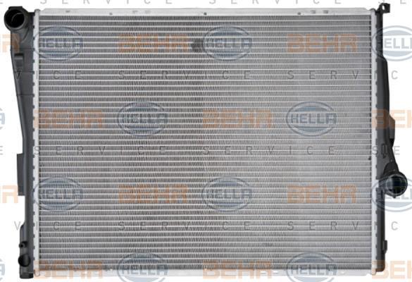 8MK 376 716-241 HELLA Kühlrippen gelötet, Schaltgetriebe, HELLA BLACK MAGIC Kühler, Motorkühlung 8MK 376 716-241 günstig kaufen