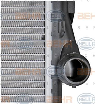 8MK 376 716-241 Kühler HELLA - Markenprodukte billig