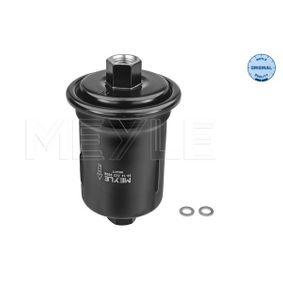 MFF0127 MEYLE Anschraubfilter, ORIGINAL Quality Höhe: 114,5mm Kraftstofffilter 30-14 323 0006 günstig kaufen