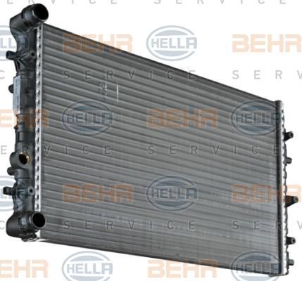 Kühler Motorkühlung 8MK 376 717-701 rund um die Uhr online kaufen