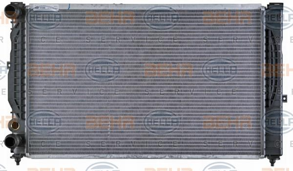 AUDI A4 2020 Autokühler - Original HELLA 8MK 376 720-591