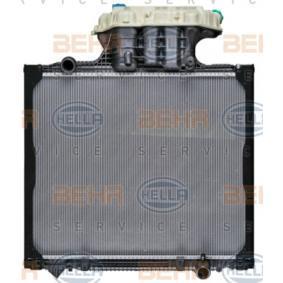 Kühler, Motorkühlung HELLA 8MK 376 721-711 mit 33% Rabatt kaufen