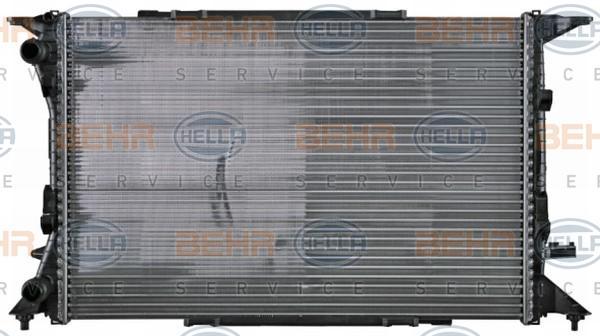 OE Original Wasserkühler 8MK 376 753-491 HELLA