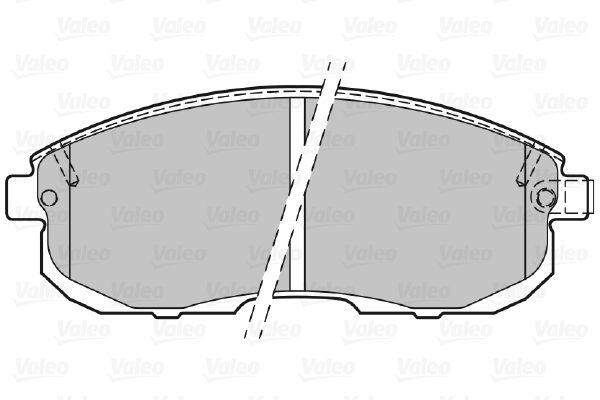 301011 Bremssteine VALEO in Original Qualität
