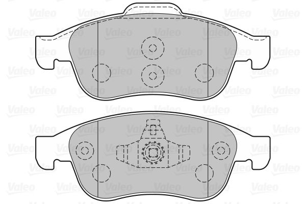 Disk pads 301059 VALEO — only new parts