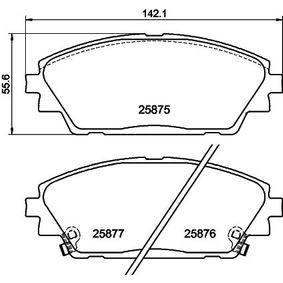 Ladeluftkühler HELLA 8ML 376 723-791 mit 19% Rabatt kaufen
