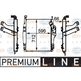 Ladeluftkühler HELLA 8ML 376 724-091 mit 27% Rabatt kaufen