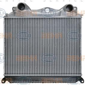 Ladeluftkühler HELLA 8ML 376 724-371 mit 24% Rabatt kaufen