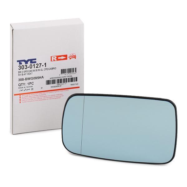 Rückspiegelglas TYC 303-0127-1