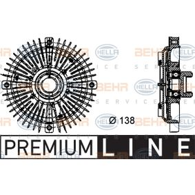 8MV 376 732-021 HELLA BEHR HELLA SERVICE *** PREMIUM LINE *** Kupplung, Kühlerlüfter 8MV 376 732-021 günstig kaufen
