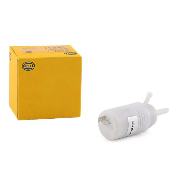 Accesorios y recambios SEAT TERRA 1993: Bomba de agua de lavado, lavado de parabrisas HELLA 8TW 004 223-031 a un precio bajo, ¡comprar ahora!