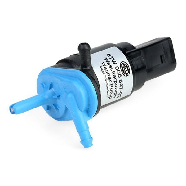 8TW 006 847-021 Scheibenwaschpumpe HELLA - Markenprodukte billig