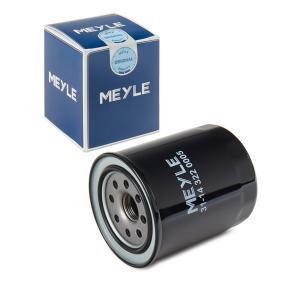 MOF0118 MEYLE Anschraubfilter, mit einem Rücklaufsperrventil, ORIGINAL Quality Ø: 80mm, Höhe: 100mm Ölfilter 31-14 322 0005 günstig kaufen