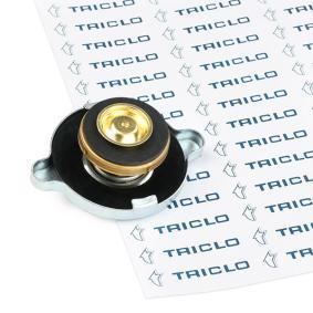 Įsigyti ir pakeisti dangtelis, radiatorius TRICLO 310176