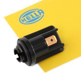 096046 HELLA Glödlampsfattning, huvudstrålkastare 9FF 126 444-001 köp lågt pris