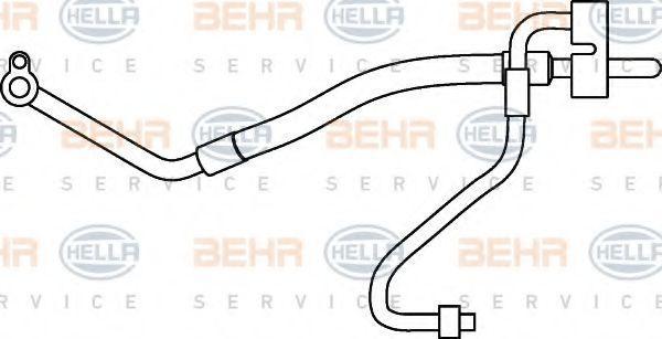 Niederdruckleitung HELLA 9GS 351 337-161