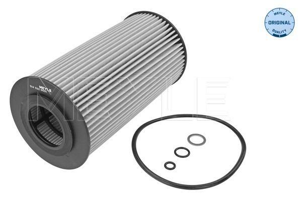 MOF0131 MEYLE mit Dichtung, Filtereinsatz, ORIGINAL Quality Innendurchmesser: 37mm, Ø: 83mm, Höhe: 159,5mm Ölfilter 314 322 0001 günstig kaufen