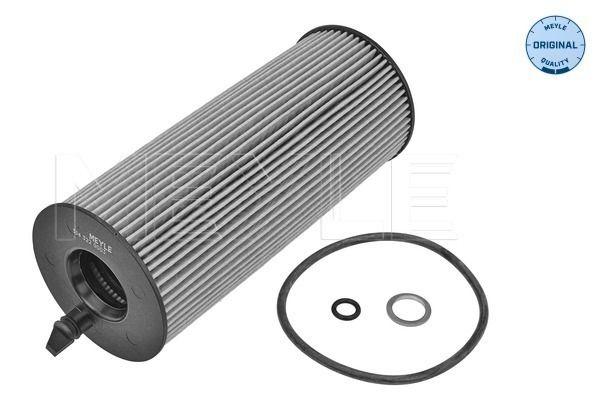 MOF0133 MEYLE mit Dichtung, Filtereinsatz, ORIGINAL Quality Innendurchmesser: 25mm, Ø: 63,5mm, Höhe: 172mm Ölfilter 314 322 0003 günstig kaufen
