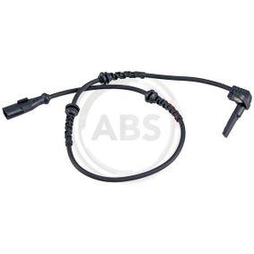 Raddrehzahl für Bremsanlage Vorderachse A.B.S Sensor 31469