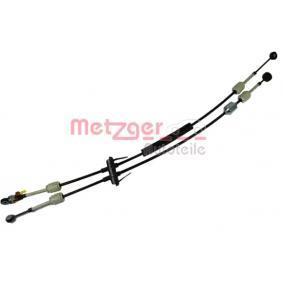 3150100 METZGER Seilzug, Schaltgetriebe 3150100 günstig kaufen