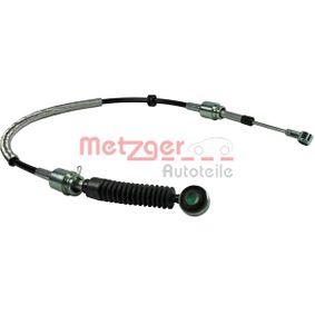 Seilzug Schaltgetriebe für Schaltgetriebe METZGER 3150123
