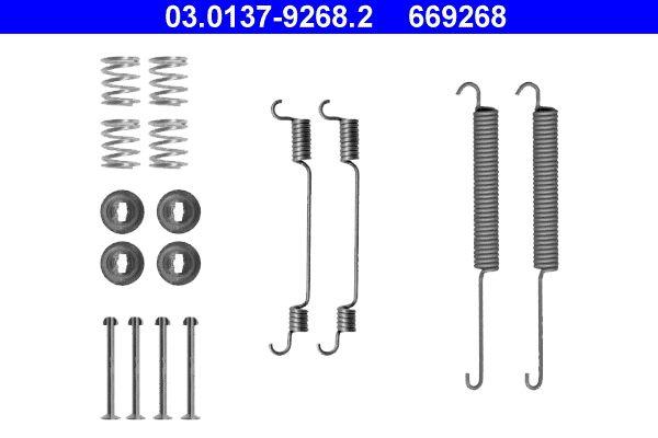 Kit de acessórios, maxilas do travão ATE 03.0137-9268.2 Avaliações