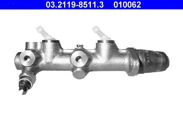Reservdelar VW 181 1979: Huvudbromscylinder ATE 03.2119-8511.3 till rabatterat pris — köp nu!
