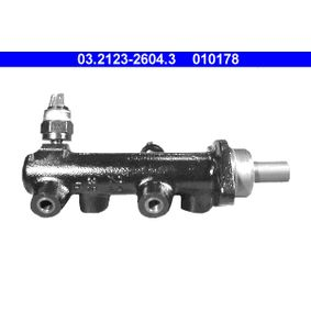010178 ATE Anschlussanzahl: 2, Ø: 23,81mm, mit Warneinrichtung Hauptbremszylinder 03.2123-2604.3 günstig kaufen