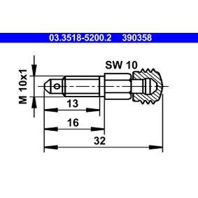 390358 ATE Ventilationsskruv / -ventil 03.3518-5200.2 köp lågt pris