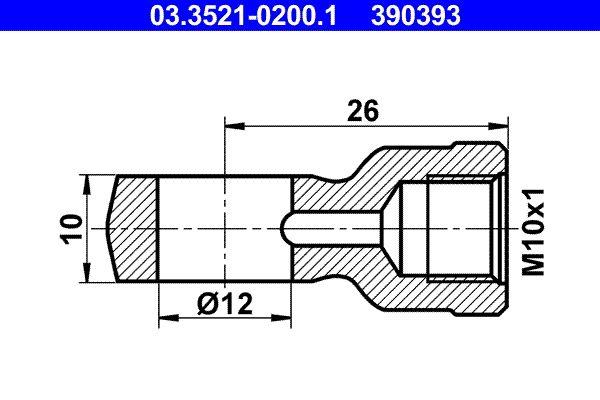 Köp ATE 03.3521-0200.1 - Universalslangar / Universalrör: