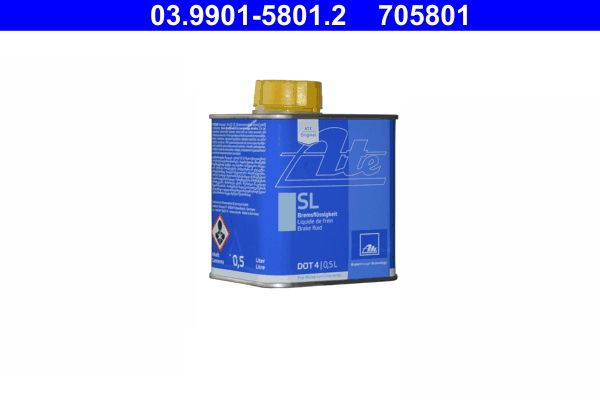 03.9901-5801.2 Brake Fluid ATE - Experience and discount prices