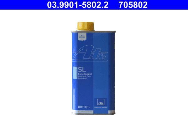 03.9901-5802.2 Bromsvätska ATE - Billiga märkesvaror