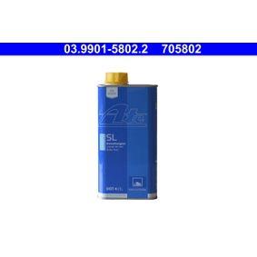 03.9901-5802.2 Stabdžių skystis ATE - Pigus kokybiški produktai