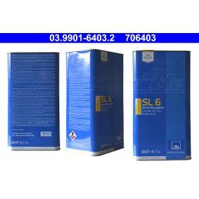 706403 ATE DOT 4 5l Bremsflüssigkeit 03.9901-6403.2 günstig kaufen