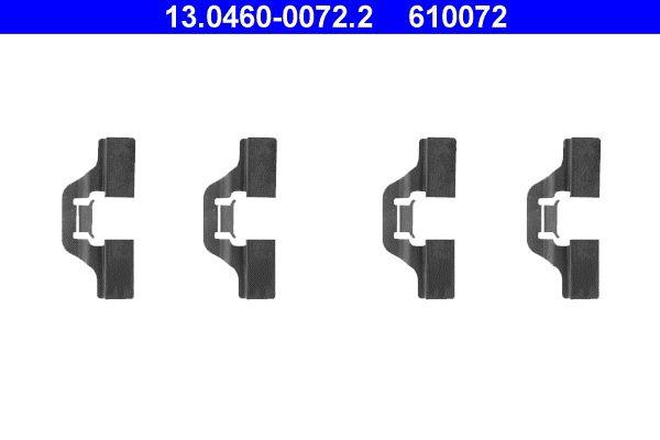 13.0460-0072.2 Zubehörsatz, Scheibenbremsbelag ATE Erfahrung