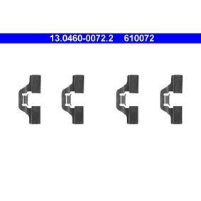 13.0460-0072.2 Zubehörsatz, Scheibenbremsbelag ATE in Original Qualität
