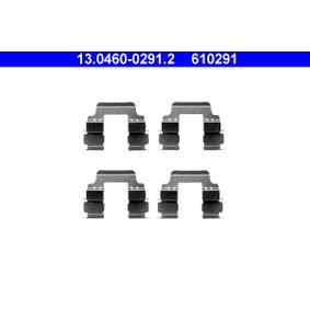 Zubehörsatz Scheibenbremsbelag für Bremsanlage Vorderachse ATE 13.0460-0286.2