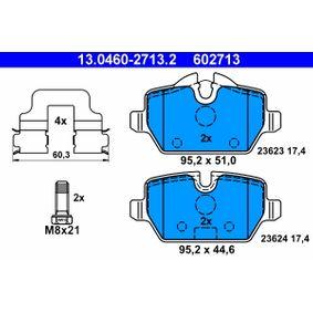 13.0460-2713.2 Bremsbelagsatz ATE - Markenprodukte billig