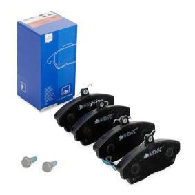 Günstige Bremsbelagsatz, Scheibenbremse mit Artikelnummer: 13.0460-2803.2 HONDA CONCERTO jetzt bestellen