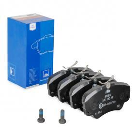 Sada brzdových platničiek kotúčovej brzdy 13.0460-2815.2 OPEL SENATOR v zľave – kupujte hneď!